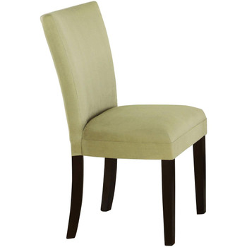 Continental Light Green Parsons Chair