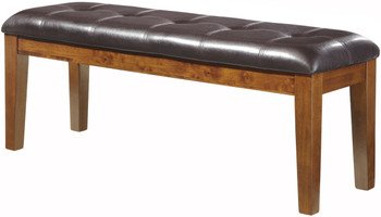Nela Medium Brown Dining Bench