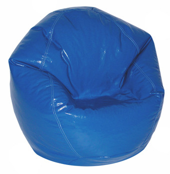 Blue Wetlook Medium Size BeanBag