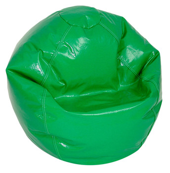 Green Wetlook Medium Size BeanBag