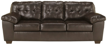 Avant Dark Chocolate Tufted Sofa