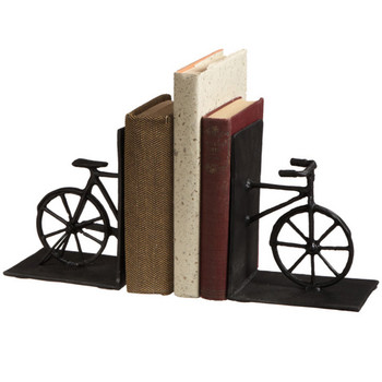 Vintage Bicycle Bookend Pair