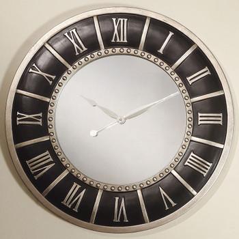 """Mori Black 30"""" Wall Clock"""