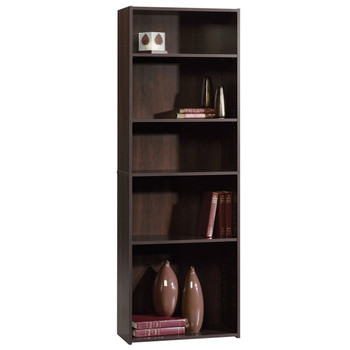 Origins Espresso 5 Shelf Bookcase