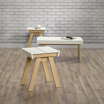 Studio5 Pine 3 Piece Table Set