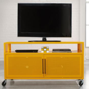 Essence Yellow TV Cart