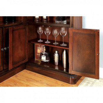 Talib Dark Cherry Bar Unit