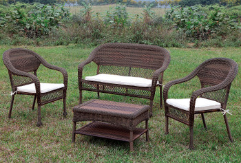 Vallejo 4 Piece Patio Seating Set