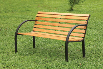 Parklane Oak Outdoor Bench
