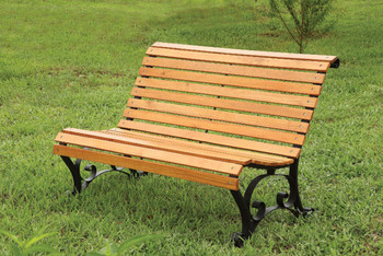Parkview Oak Outdoor Bench