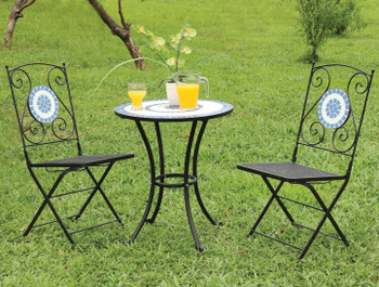 Sunrise 3 Piece Outdoor Bistro Set