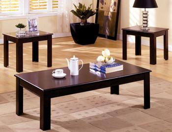 Lerris Espresso 3 Piece Table Set