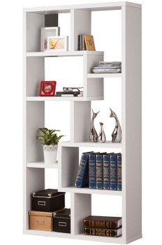 Colm White Bookcase