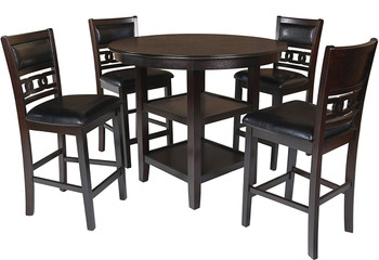 Labonz 5 Piece Counter Height Set