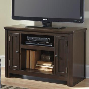 "Pertin Dark Brown 42"" Wide TV Stand"