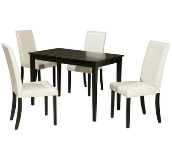 Alfredo Ivory 5 Piece Dining Set