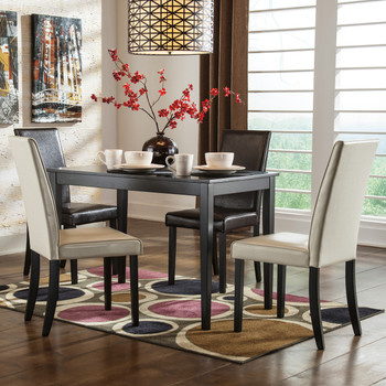 Alfredo Dark Brown Dining Chair