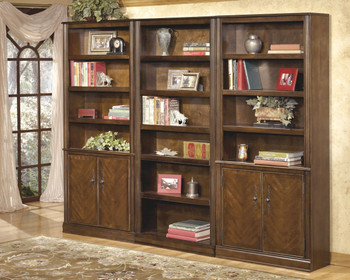 Hamlyn Brown Large Door Bookcase