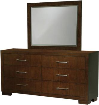 Andre Brown Dresser & Mirror