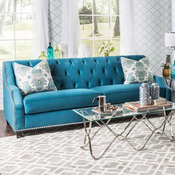 Azuri Blue Sofa
