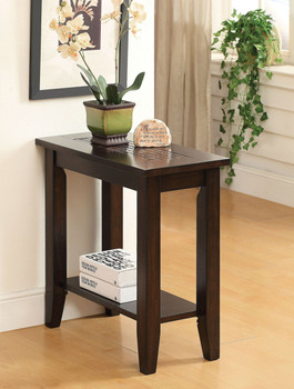 Eartha Brown Cherry Side Table