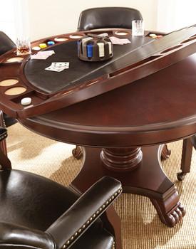 Showdown Black 5 Piece Game Table Set