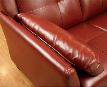 Cendre Mahogany Red Sectional