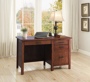 Acadia Writing Desk- Red Brown