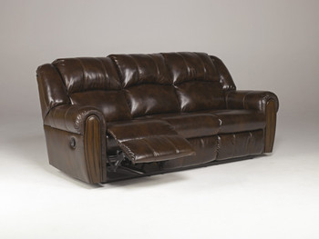 Woodsdale DuraBlend Antique Reclining Sofa