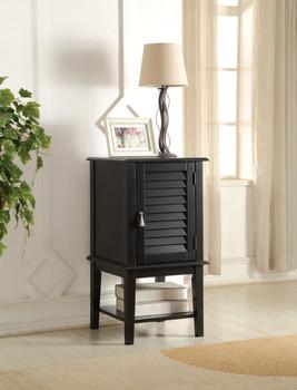Abba Black Floor Cabinet