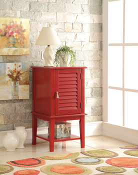 Abba Red Floor Cabinet