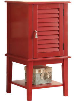 Abba Red Floor Cabinet