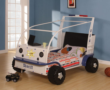 Carlen Police Car Bed