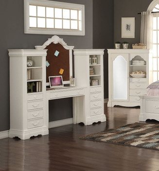 Alejandra Desk- White Finish