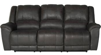 Bandit Gray Reclining Sofa