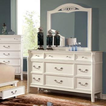 Ezra White Dresser