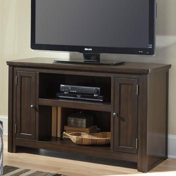 "Pertin Dark Brown 50"" Wide TV Stand"