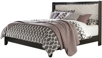 Rizvon Black Bed