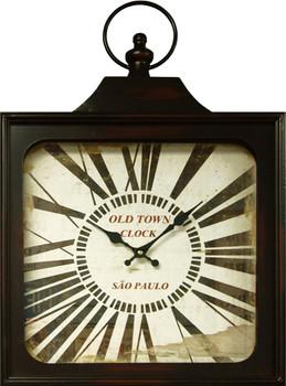 Valense Black Wall Clock