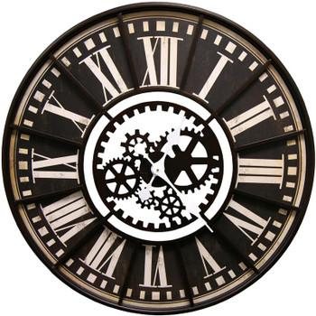 Makina Brown Wall Clock