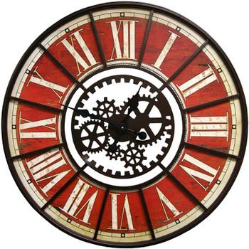 Makina Red Wall Clock
