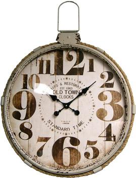 Lasso White Wall Clock
