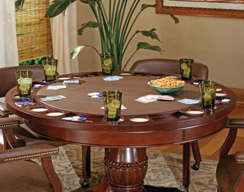 Showdown Brown 5 Piece Game Table Set