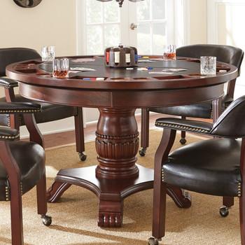 Showdown Black Game Table