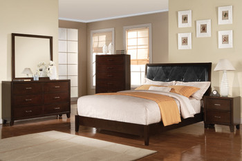 Augustine Brown Bedroom Set