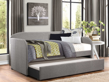 Paige Gray Daybed with Trundle