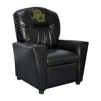 Baylor University Faux Leather Kids Recliner