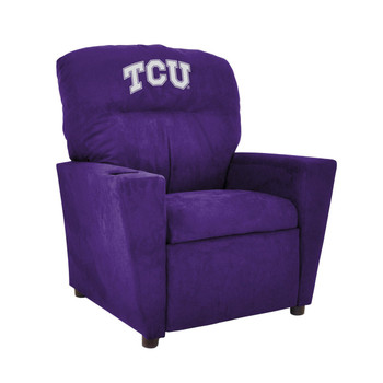 TCU University Microfiber Kids Recliner