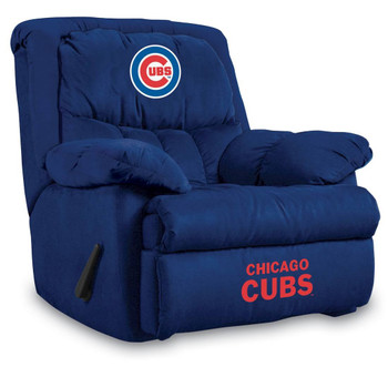 Chicago Cubs Blue Microfiber Recliner