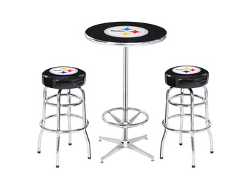 Pittsburgh Steelers Heavy-Duty 3 Piece Pub Set